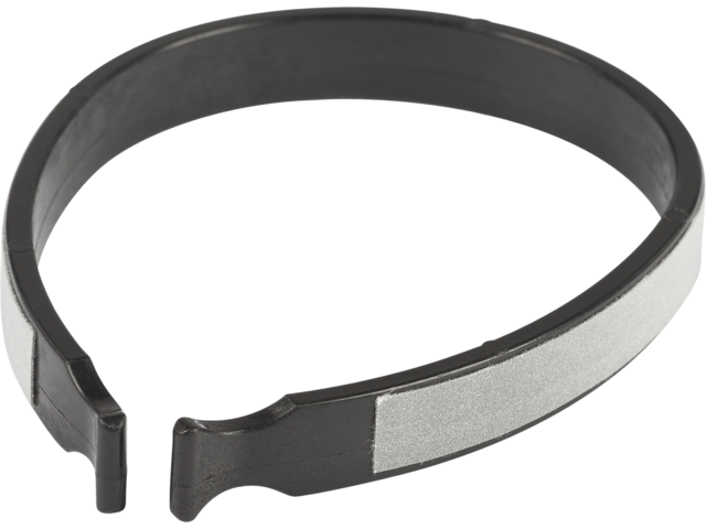 Cube RFR refleksknæbånd Refleks sort/sølv (2019) | Reflekser